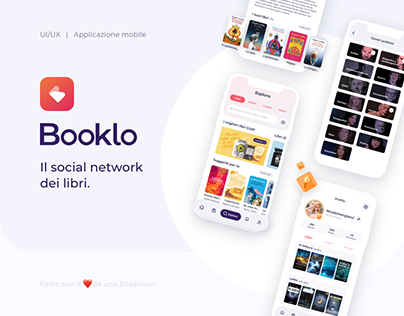 Booklo / Book App