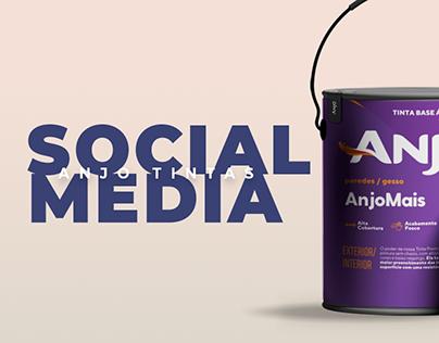 Anjo Tintas   Social Media