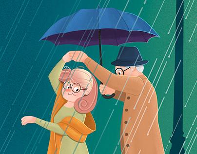 Memory book for grandparents