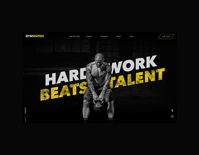 Gym Watch — Concept
