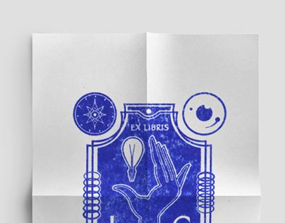 EX LIBRIS Book Stamp