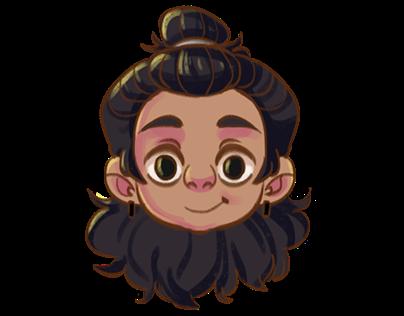 Mini Dani - Character Design