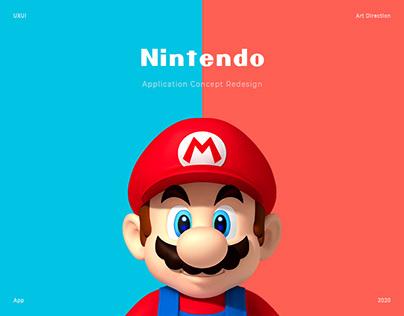 Nintendo - UX/UI