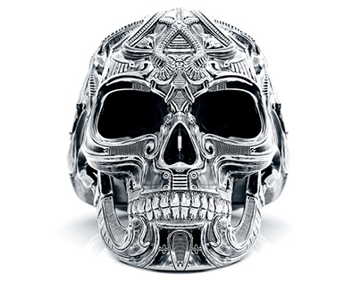Demon Seed_Skull ring