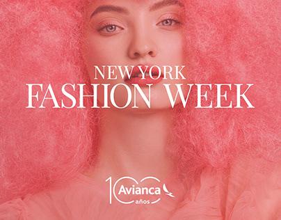 Avianca ~ New York Fashion Week