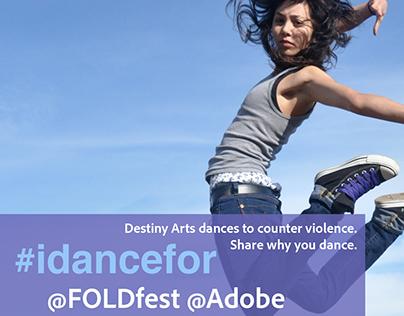 FOLDfest, Adobe & Destiny Arts collaboration
