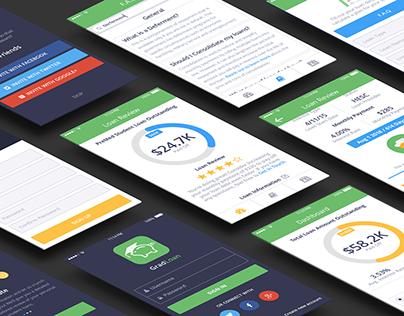 Gradloan : Student Loan UX / UI Design