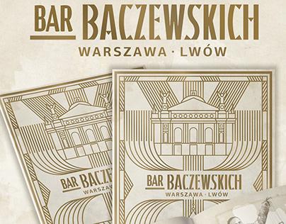 """Bar Baczewskich - Cocktail menu - """"Warszawa / Lwów"""""""