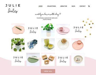 Webshop Julie Jules