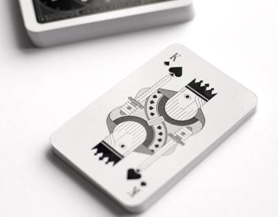 """Jeu de cartes """"Maison Inland"""""""