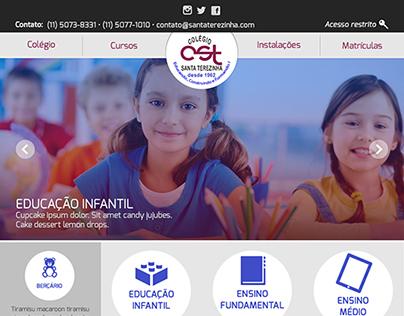 Colégio Santa Terezinha • Website