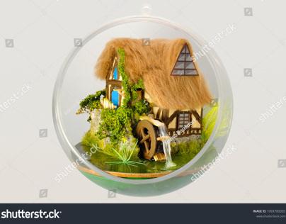 Handmade miniature dioramas