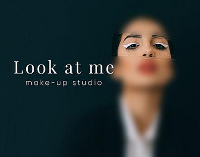 Сайт-портфолио для make-up студии