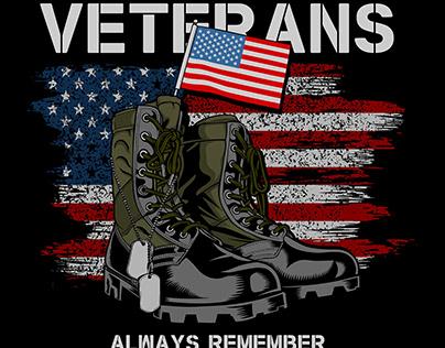 US Veteran T shirt Design