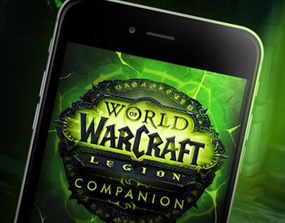 World of Warcraft Legion Companion App