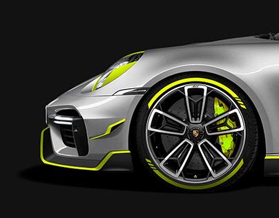 Porsche 911 Turbo Body kit