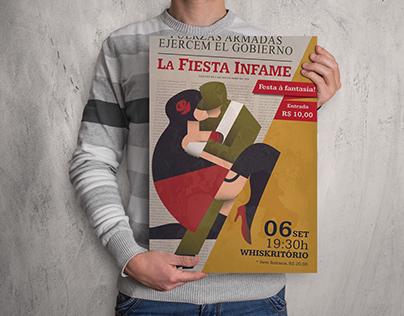 La Fiesta Infame - Cartaz