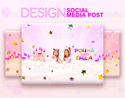 FACEBOOK AND YOUTUBE COVER. POST & WEB BANNER