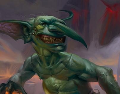 Token Creature - Goblin