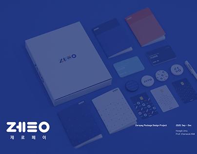 Zeropay Welcome Kit package / 패키지 디자인 / 사이좋조