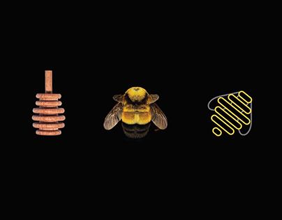 Branding & Label Design for Happy Hive Honey Co 🐝🍯🐝