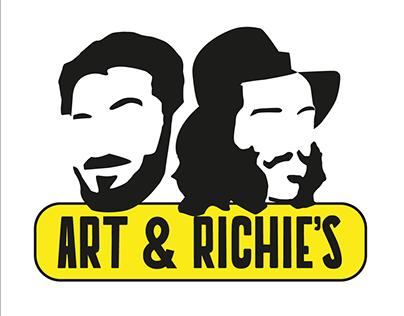 Art & Richie's - Criação de marca e rótulos