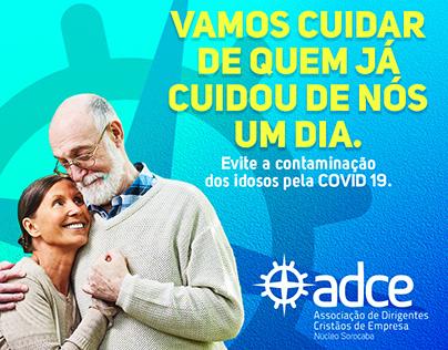 Posts Social Media - ADCE Sorocaba - COVID-19