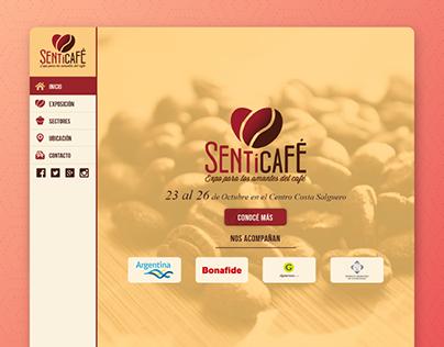 Sentí Café - Web Design v2