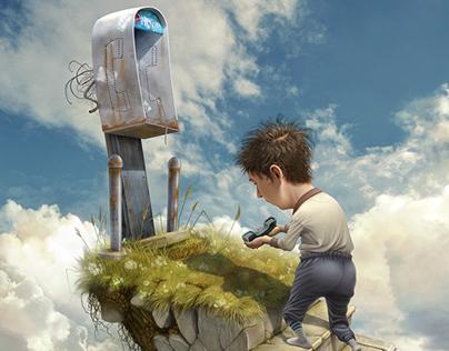 Digital Paintings and Illustrations