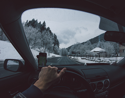 Drive through the world