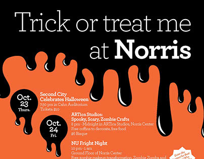 Trick or Treat Me at Norris