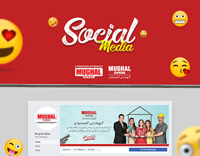 Social Media | Campaign Post For Mughal Steel