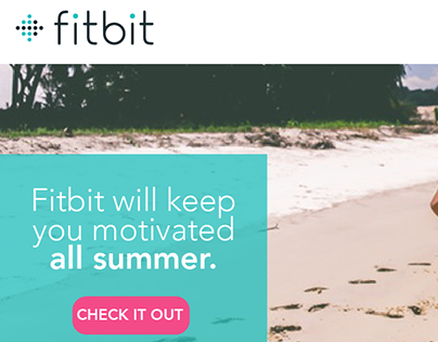 Fitbit Sample Marketing Email
