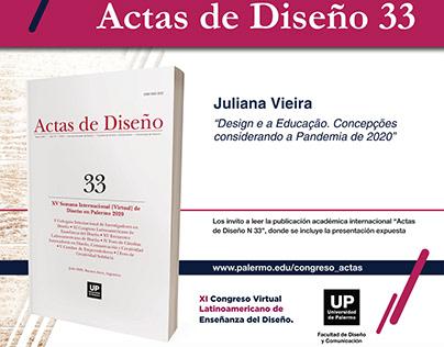 Congreso Latinoamericano de Enseñanza del Diseño/2020