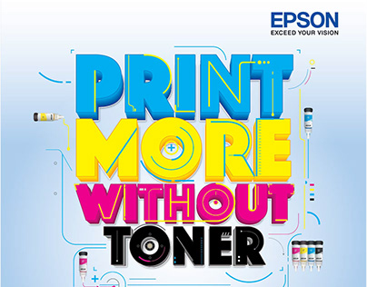 """Epson """"Print More Without Toner"""" Campaign"""