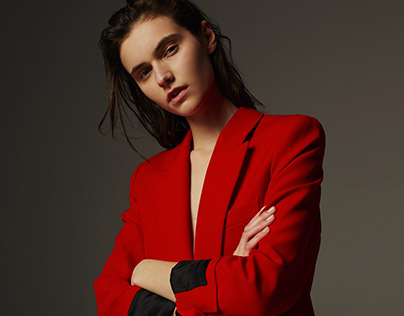 Model tests shot by Dominika Jarczynska