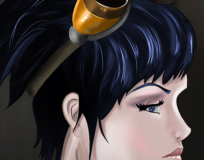 Steampunk Girl - Illustration