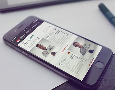 F1 Mobile App - iOS