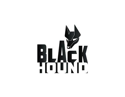 LOGO DESIGN AND MOCKUPS FOR CLIENT BLACK HOUND