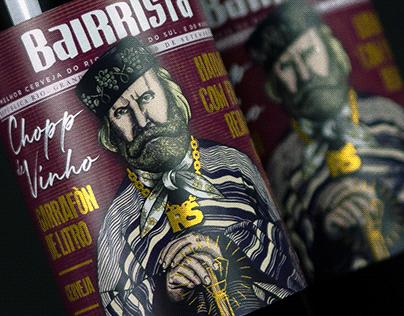 Rótulo - Chopp de vinho Bairrista