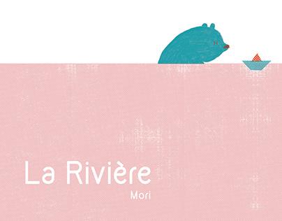 La Rivière (The River) Children's Book Illustration