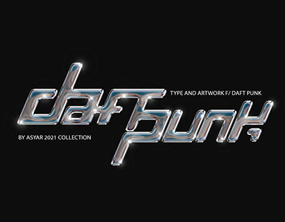 Daft Punk, Type and Artwork.
