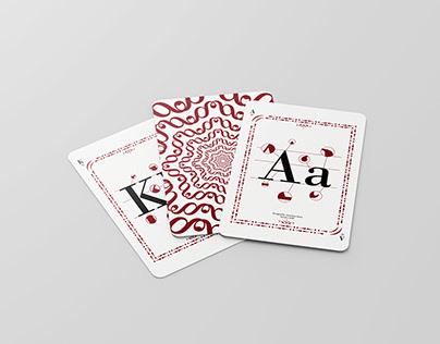 Naipes Tipográficos - Giambattista Bodoni