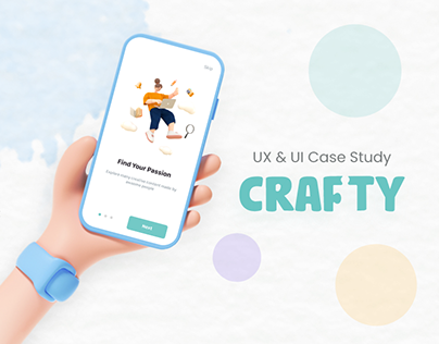 Crafty App - UX/UI Case Study