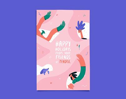 Holiday Cards at Tendril