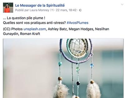 LMC Facebook: ... La question pile plume !