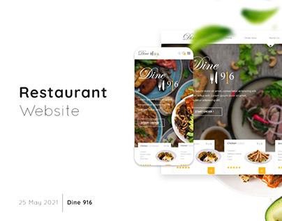 Custom E-Commerce Design for Restaurants