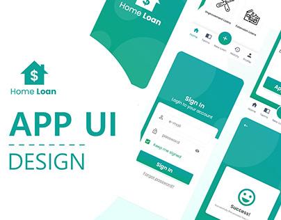 Home Loan APP UI Design