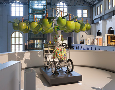Icons Exhibition - Apple Cart