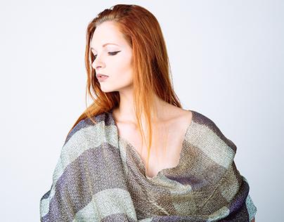 Metalic Woven Shawl